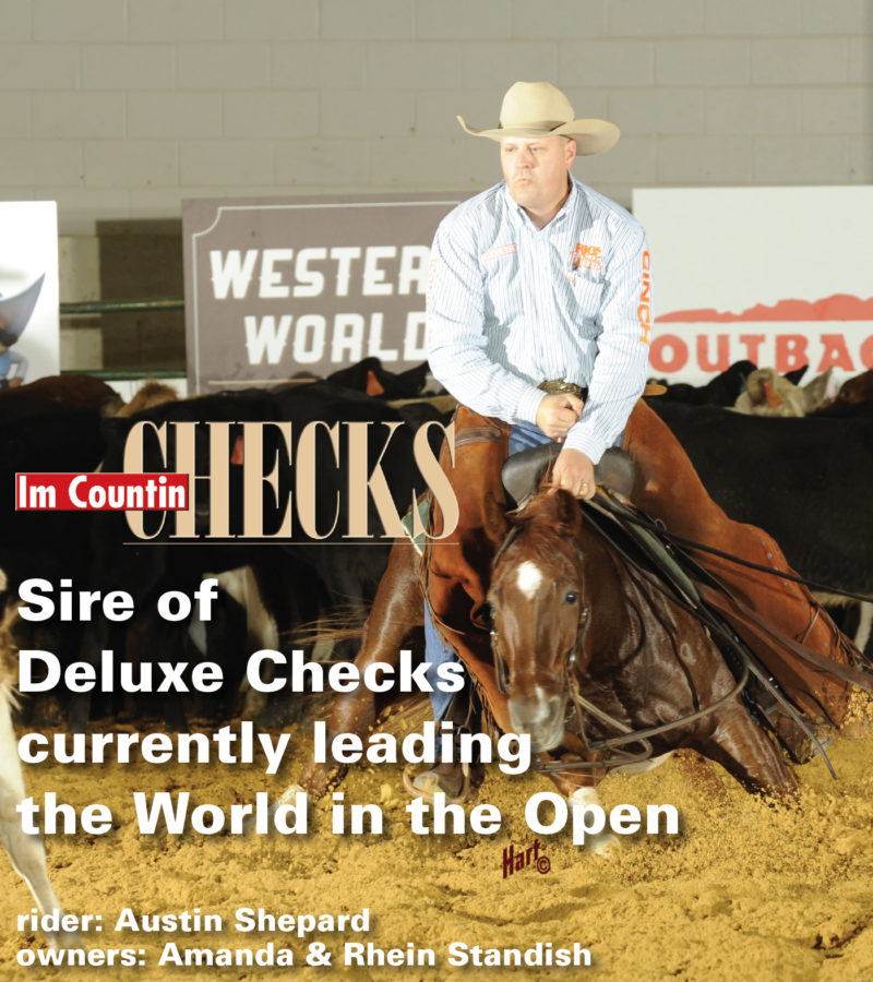 Leading the Open - Im Countin Checks